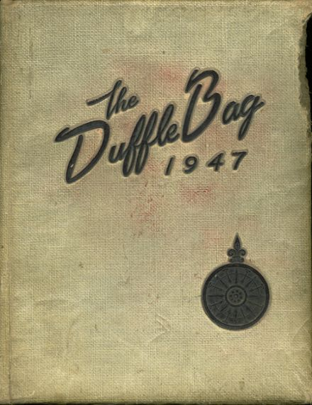 1947 Corpus Christi High School Yearbook Cover
