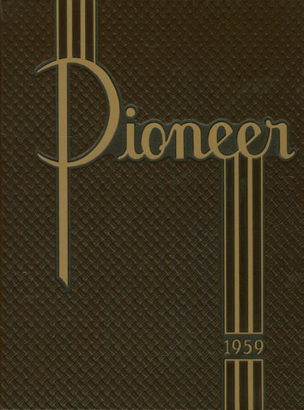 1959 Naches Valley High School Yearbook Cover