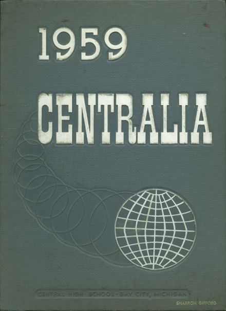 1959 Bay City Central High School Yearbook Cover