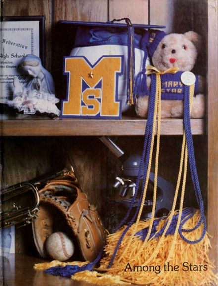 1983 Mary Star of the Sea High School Yearbook Cover