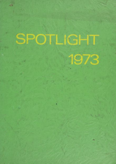 1973 Julia Richman High School Yearbook Cover