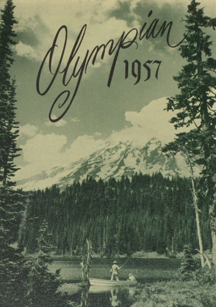 1957 O'Dea High School Yearbook Cover