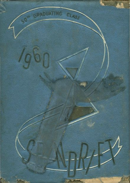 1960 Oceanside High School Yearbook Cover