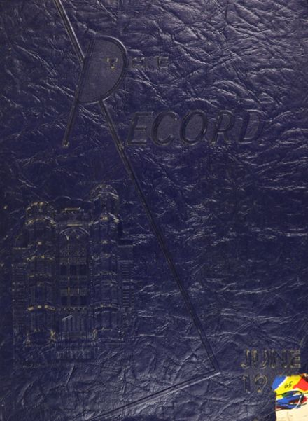 1965 Frankford High School Yearbook Cover