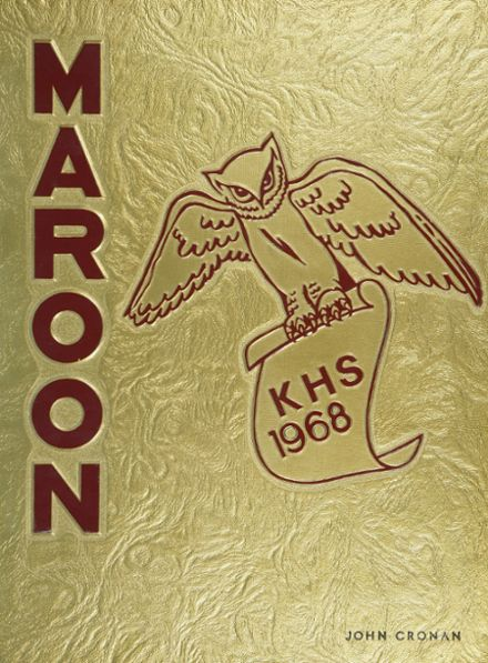 1968 Kingston High School Yearbook Cover