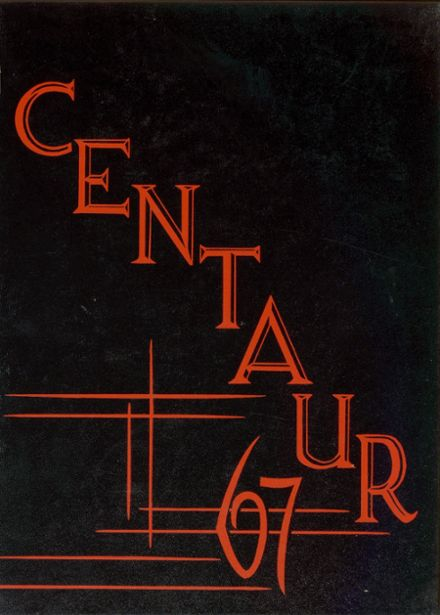 1967 Gladstone High School Yearbook Cover