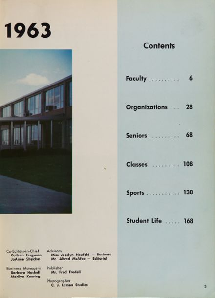 1963 Alexander Ramsey Senior High School Yearbook Page 7