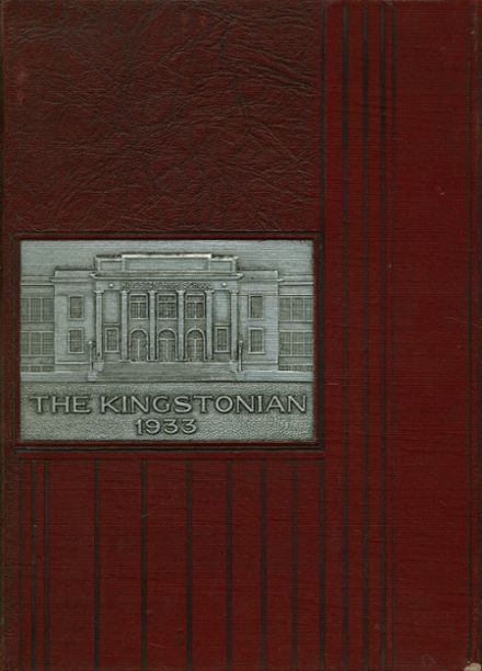 1933 Kingston High School Yearbook Cover