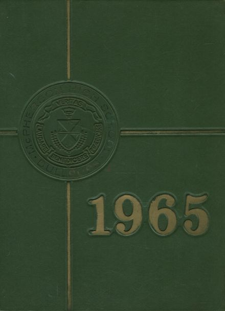 1965 Mcpherson High School Yearbook Cover