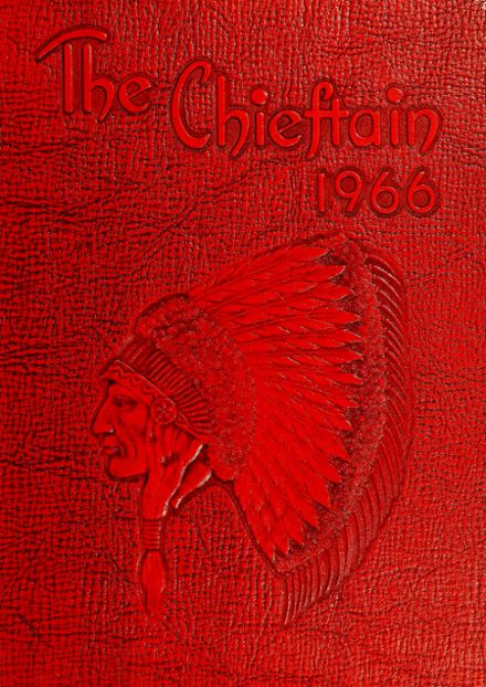 1966 Cobre High School Yearbook Cover