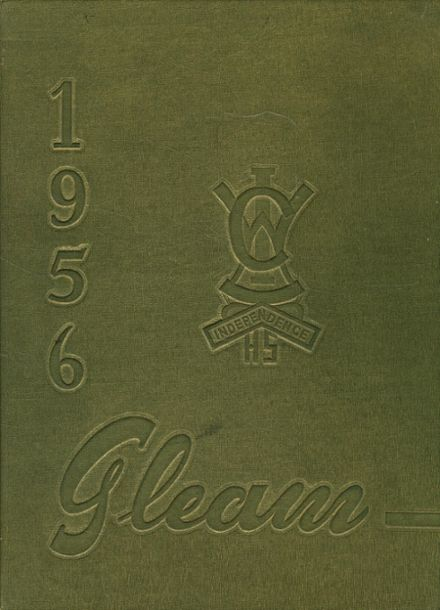 1956 William Chrisman High School Yearbook Cover