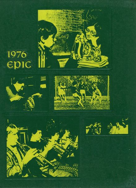 1976 Olympia High School Yearbook Cover