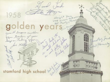 1958 Stamford High School Yearbook Page 5