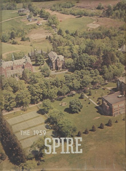 1959 St. John's Preparatory Yearbook Cover