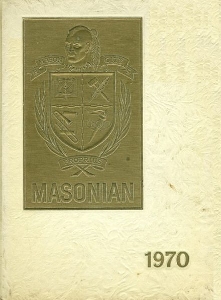 1970 Mason City High School Yearbook Cover