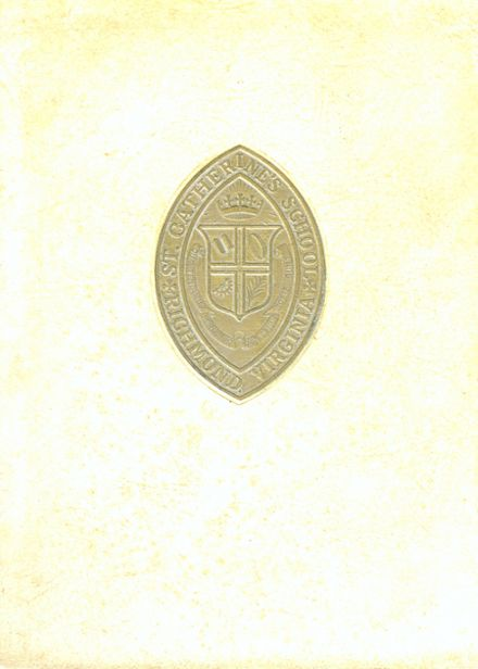 1963 St. Catherine's School Yearbook Cover