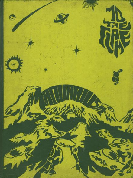 1970 Lima Central Catholic High School Yearbook Cover