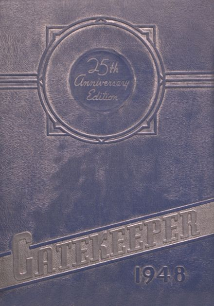 1948 St. Peter's High School Yearbook Cover
