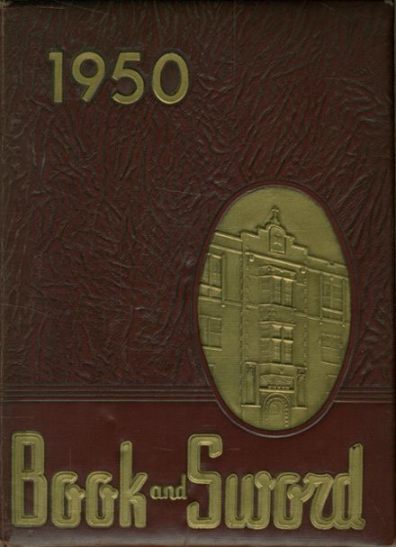 1950 St. Paul's Cathedral High School Yearbook Cover
