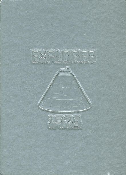 1978 Bowie High School Yearbook Cover