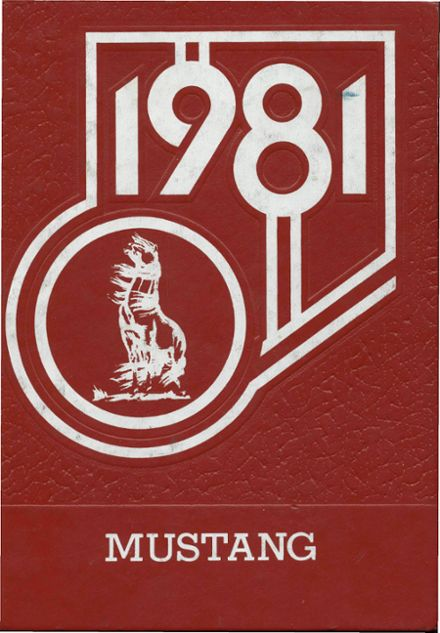 1981 Monument Valley High School Yearbook Cover