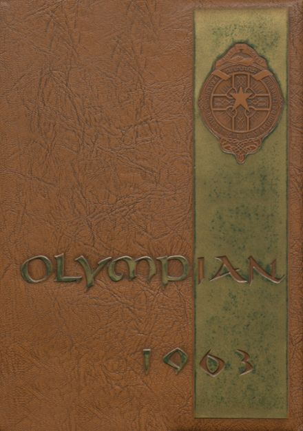 1963 O'Dea High School Yearbook Cover