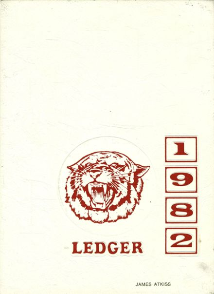 1982 Owen J. Roberts High School Yearbook Cover