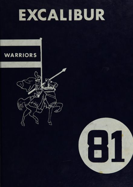 1981 La Plata High School Yearbook Cover