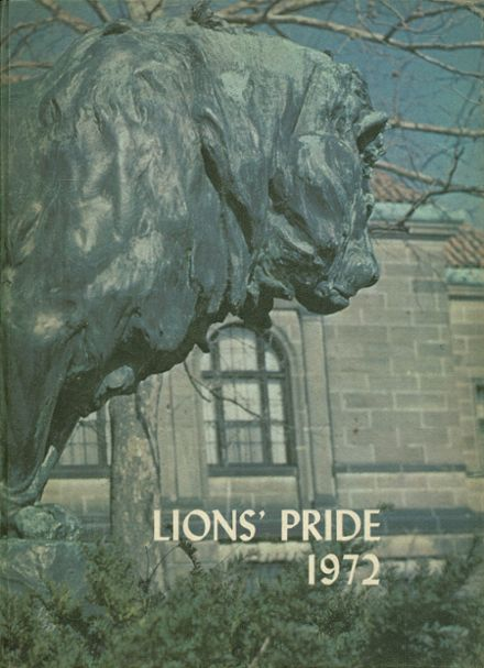 1972 Meadowdale High School Yearbook Cover