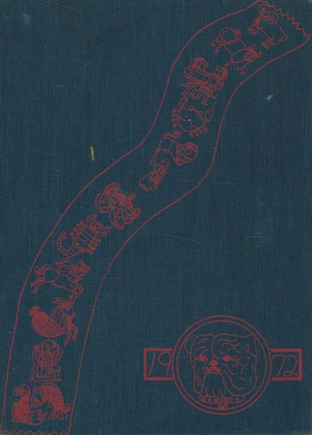 1972 Westmoreland High School Yearbook Cover