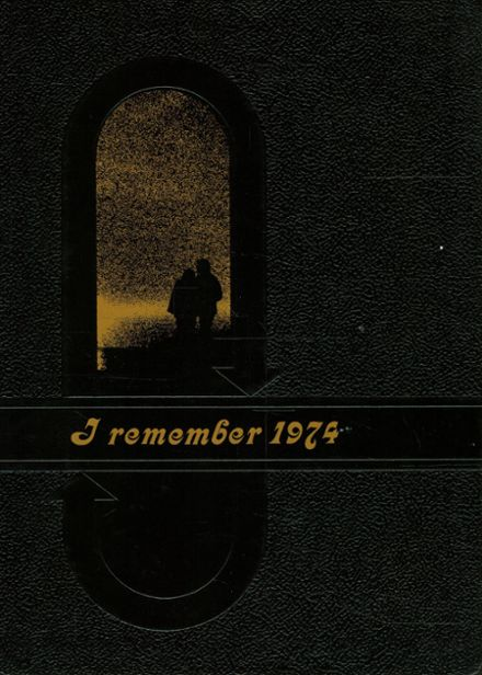 1974 Lees Summit High School Yearbook Cover