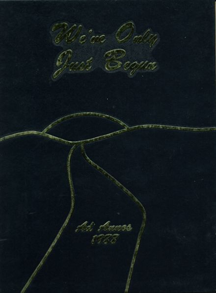 1988 Jacksonville High School Yearbook Cover