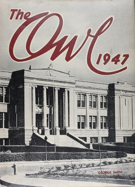 1947 Paris High School Yearbook Cover