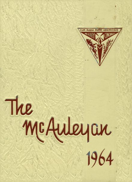 1964 McAuley High School Yearbook Cover