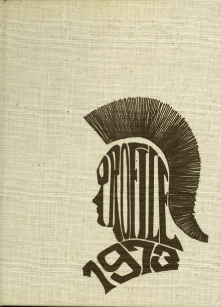 1973 York Suburban High School Yearbook Cover