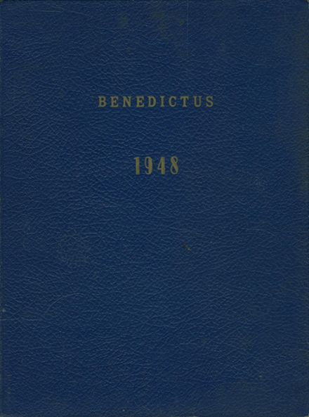 1948 Saint Benedict's School Yearbook Cover