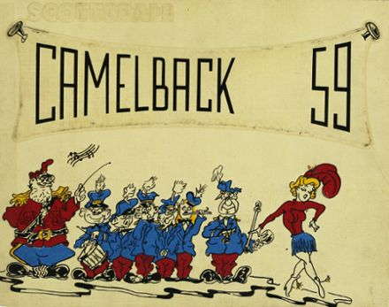 1959 Scottsdale High School Yearbook Cover