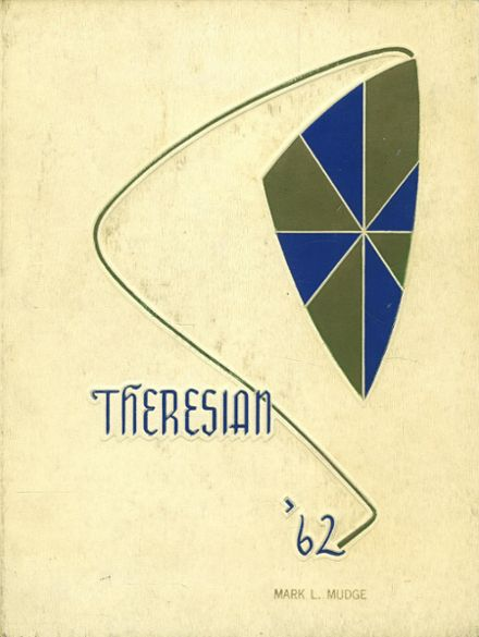 1962 St. Theresa's High School Yearbook Cover