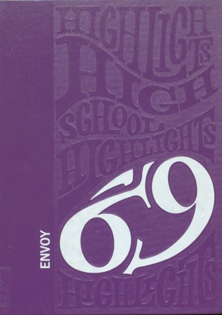 1969 L'Anse High School Yearbook Cover