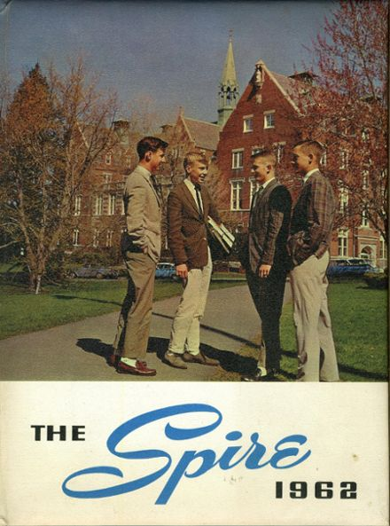 1962 St. John's Preparatory Yearbook Cover