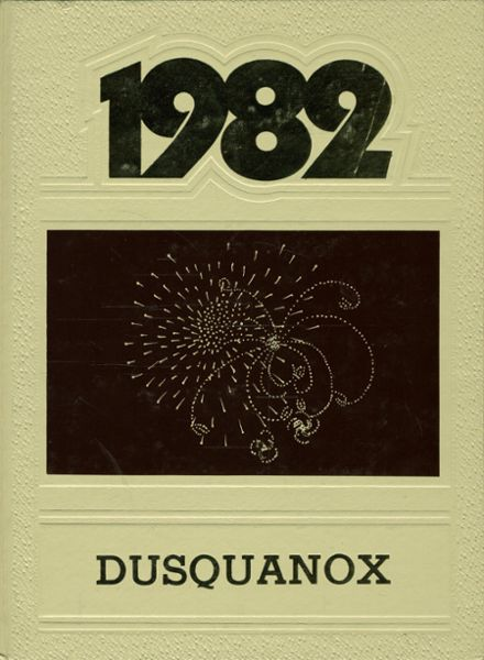 1982 Duanesburg Central High School Yearbook Cover