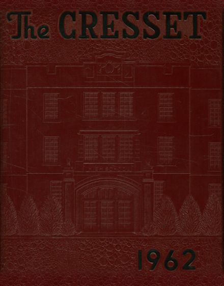 1962 Chillicothe High School Yearbook Cover