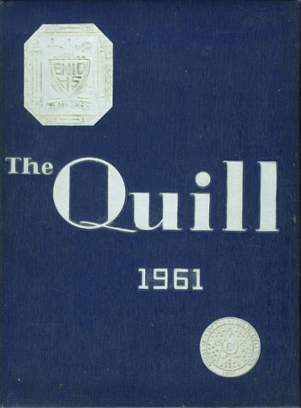 1961 Enid High School Yearbook Cover