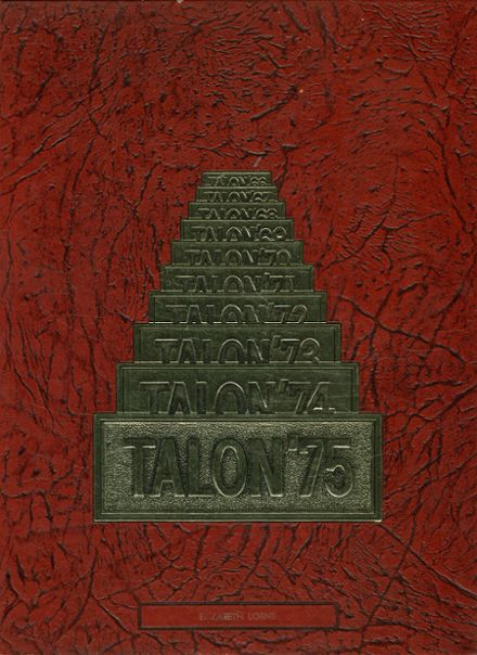 1975 Leto High School Yearbook Cover