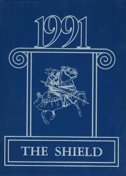 1991 St. Andrew's Episcopal School Yearbook Cover