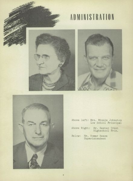 1951 Heavener High School Yearbook Page 6