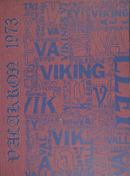 1973 Valley High School Yearbook Cover