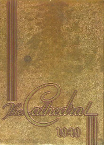 1949 St. Mary's High School Yearbook Cover