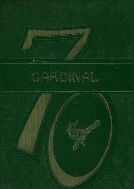 1970 Pottsboro High School Yearbook Cover