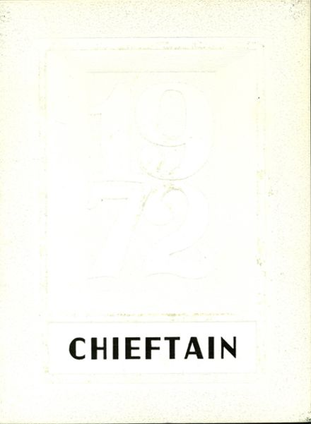 1972 Osseo-Fairchild High School Yearbook Cover